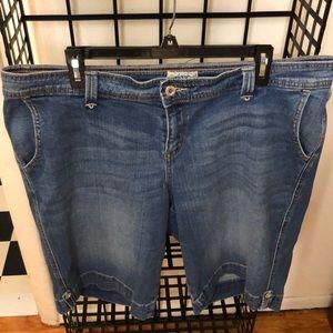 Levi's ladies denim shorts